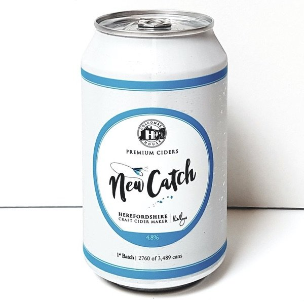 New Catch Cider Can