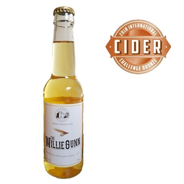 the willie gunn cider 330ml