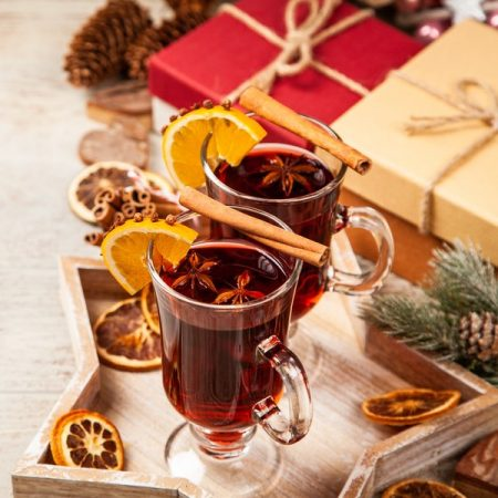 Mulled Ruby Cider
